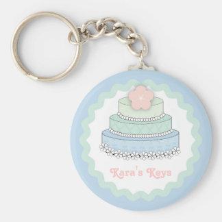 Wedding Cake Key Chain