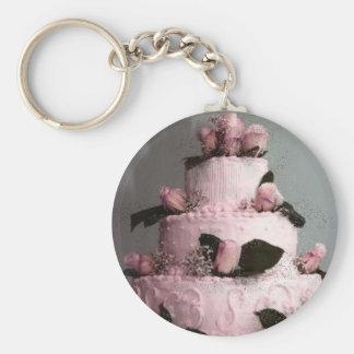 Wedding Cake Keychain