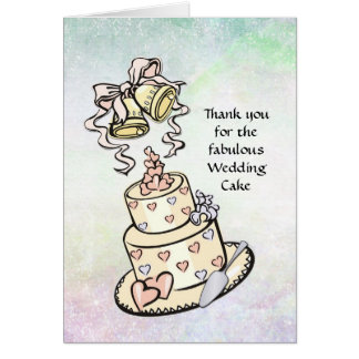 Wedding Cake - Many Uses - Bridal Services Card