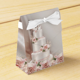 Wedding Cake Party Favour Boxes