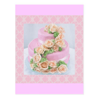 Wedding Cake Postcard