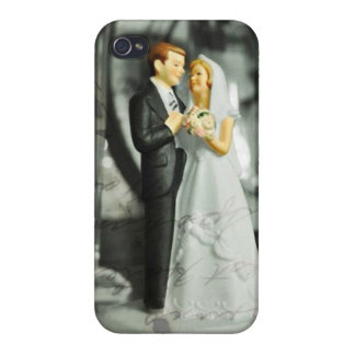 Wedding Cake Topper IPhone 4 Case