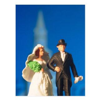 Wedding Cake Topper Postcard