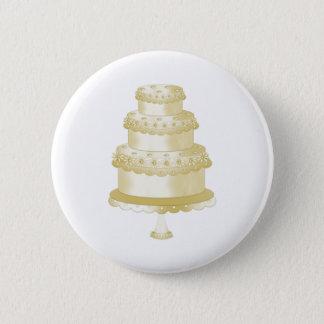 Wedding Cakes 6 Cm Round Badge