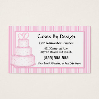 Wedding Cakes Business Card