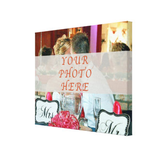 Wedding Canvas Prints with YOUR PHOTO