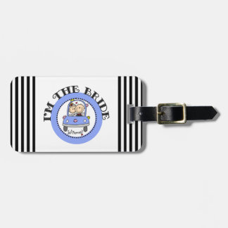 Wedding Car Bride Luggage Tag