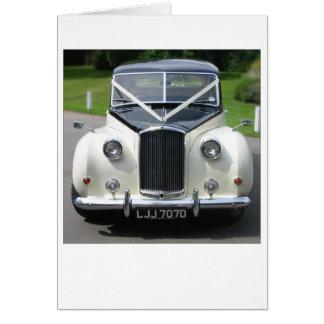 Wedding Car Card