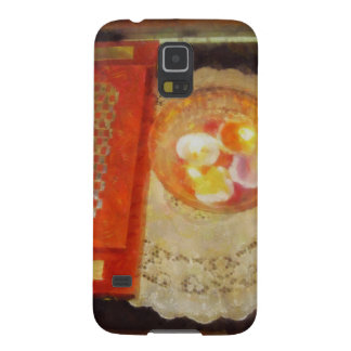 Wedding card and candles galaxy s5 cover