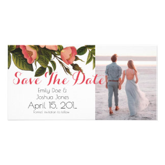 Wedding Card Template - save the date Picture Card