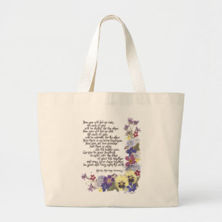 Wedding cards and gifts large tote bag
