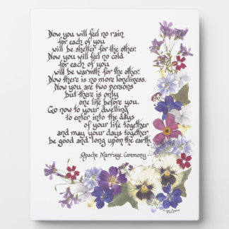 Wedding cards and gifts plaques