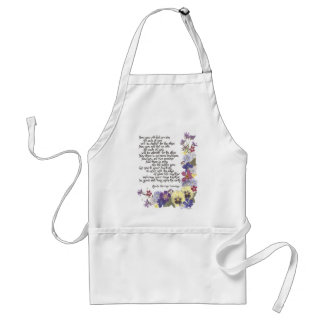 Wedding cards and gifts standard apron