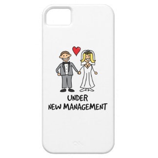 Wedding Cartoon - Under New Management Barely There iPhone 5 Case