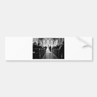 Wedding Ceremony Bumper Sticker
