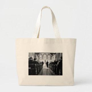 Wedding Ceremony Jumbo Tote Bag