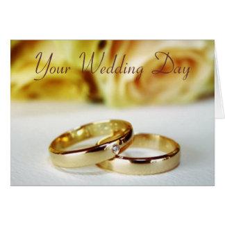 Wedding Congrats/Bride & Groom Greeting Card