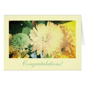 "Wedding ""congratulations! card"