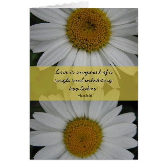 Wedding Congratulations--daisies Card