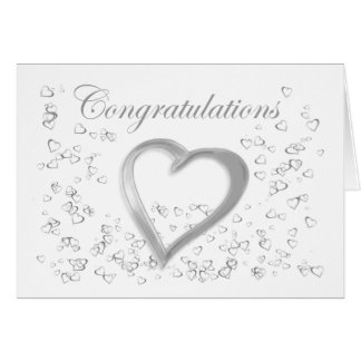 Wedding Congratulations Greeting Card