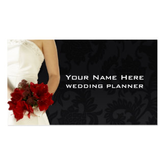 Wedding Consultant Card Business Cards