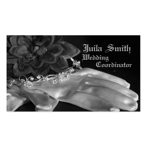 wedding Coordinator, bussiness card, classic Business Card Templates