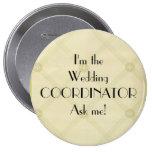 Wedding Coordinator-Planner Pinback Button