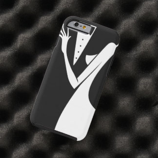 Wedding Couple Bride Groom First Dance Silhouette Tough iPhone 6 Case