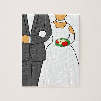 Wedding Couple Jigsaw Puzzle