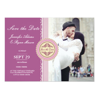 wedding couple kissing in street happiness/pink card