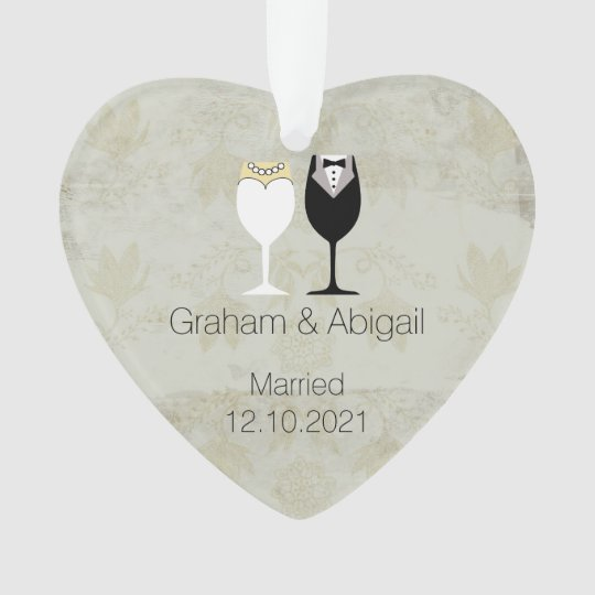 Wedding Couple Ornament