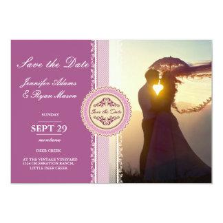 Wedding Couple Sunset Romance/pink theme Card