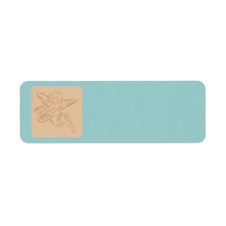Wedding Cupid Return Address Label