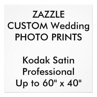 "Wedding Custom 24"" x 24"" Professional Photo Prints"