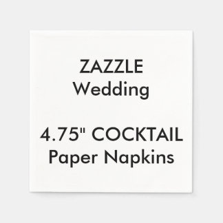 Wedding Custom COCKTAIL Disposable Paper Napkins