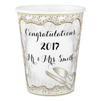 WEDDING CUSTOM  PAPER CUP