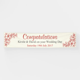 Wedding Day Banner