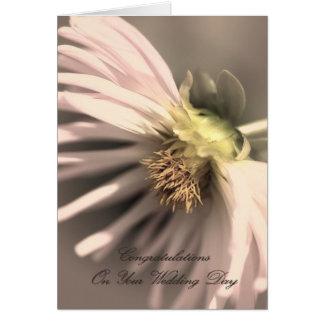 Wedding Day - Congratulations Card