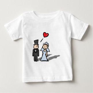 """Wedding Day"" couple design Baby T-Shirt"