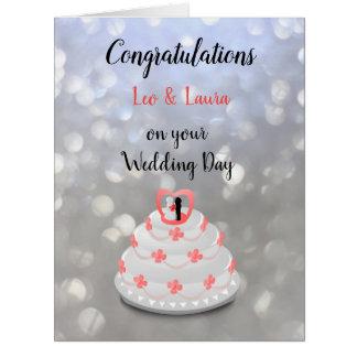 Wedding Day design Card