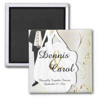 Wedding Day Keepsake for that Special Day Magnet