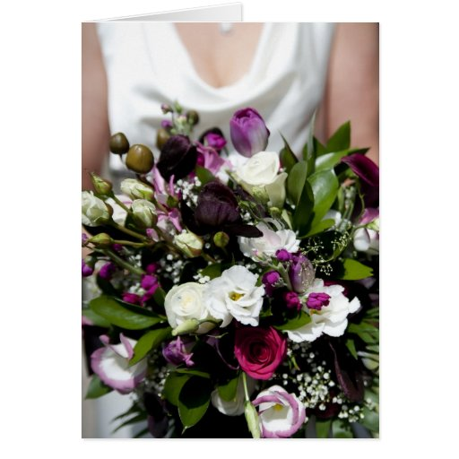 Wedding Day Thank You / Congratulations Greeting Card