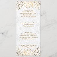 Wedding Day Trendy Gold Dots