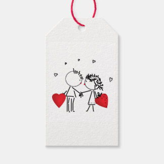 Wedding , day Valenine , love Gift Tags