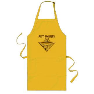 Wedding design long apron