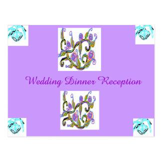 Wedding Design Post Card