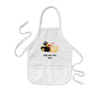 Wedding ducks 1 apron
