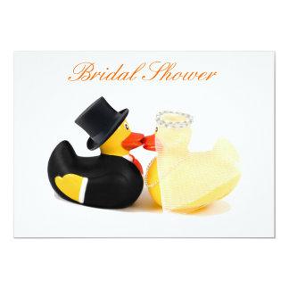 Wedding ducks 2 - Bridal Shower 13 Cm X 18 Cm Invitation Card