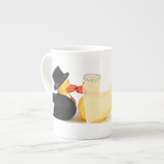 Wedding ducks 2 ...  ceramic mugs porcelain mug