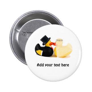 Wedding ducks 3 buttons